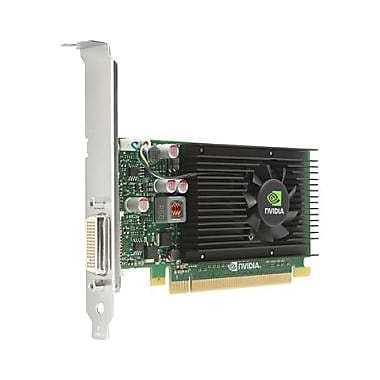 HP – Carte graphique Quadro NVS 315, 1 Go DDR3 SDRAM, PCI Express x16, profil bas, (E1C65AA)