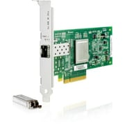 HP – Adaptateur bus hôte Fibre Channel, 1 port PCIe de 8 Go, 81E, 1 PCI Express, 8 Go/s, (AJ762SB)