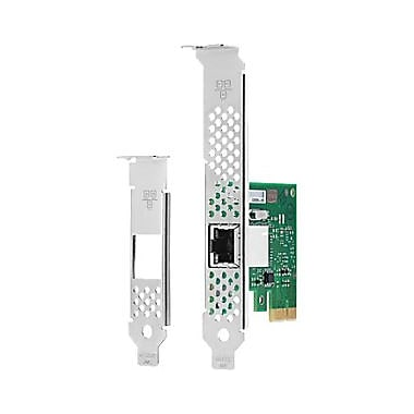 HP Intel Ethernet I210T1 GbE NIC, PCI Express, 1 Port(s), 1 x Network (RJ, (E0X95AA)
