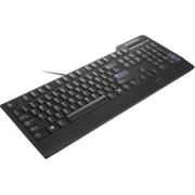Lenovo Preferred Pro USB Fingerprint Keyboard, US English, Cable Connectivity, USB Interface, English (US), (0C52683)