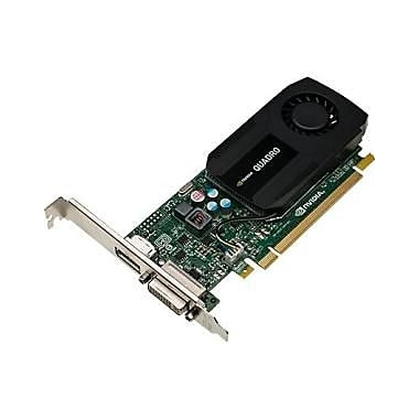 HP – Carte graphique Quadro K420, 2 Go DDR3 SDRAM, PCI Express 2.0 x16, profil bas, (N1T07AA)
