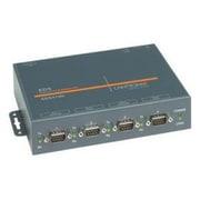 Lantronix – EDS4100, serveur de périphériques à 4 ports, avec PoE, 4 x DB9, 1 x RJ45 (EDP410000-01)