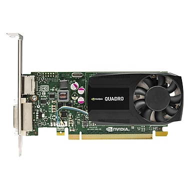 HP Quadro K620 Graphic Card, 2 GB DDR3 SDRAM, PCI Express 2.0 x16, Lowprofile, (J3G87AA)