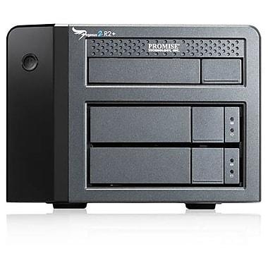 Promise Pegasus2 – Système de stockage DAS R2, 2 DD pris en charge, 2 DD installés, capacité 6 To, contrôleur Serial ATA