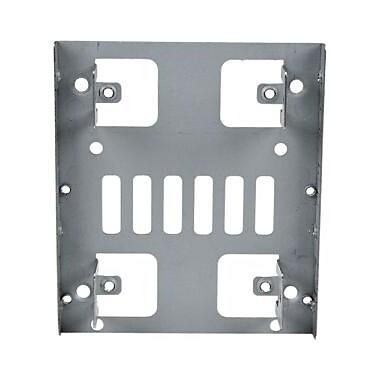 StarTech.com – Support de fixation pour disque dur SATA 2,5 po, pour baie 3,5 po, 2 baies de 2,5 po (BRACKET25X2)