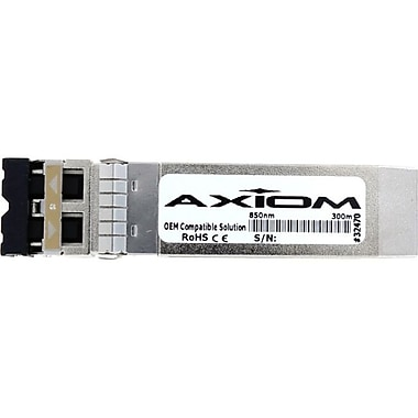 Axiom JNP10GSR8PKAX SFP+ Module, For Data Networking, Optical Network 1 LC 10GBASESR Network, Optical Fiber Multi