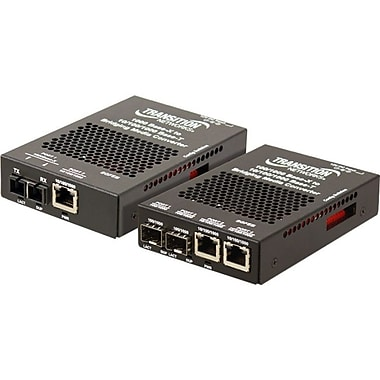 Transition Networks SGFEB1014130 Transceiver/Media Converter, 1 x Network (RJ-45), 1 x SC Ports, (SGFEB1014-130-NA)