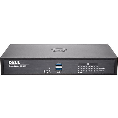 Sonicwall TZ500 Network Security/Firewall Appliance, Intrusion Prevention, Malware Protection, (01-SSC-0449)