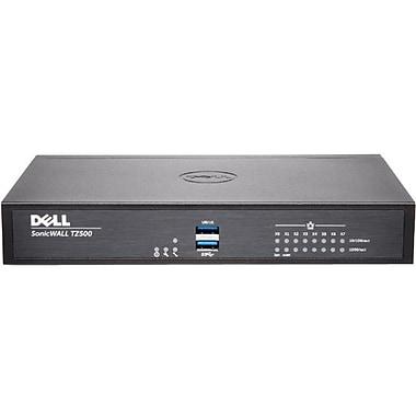 Sonicwall – Périphérique de sécurité/pare-feu de réseau TZ500, prév. des intr., protection contre les log. malv. (01-SSC-0449)