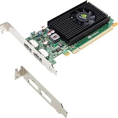 PNY – Carte graphique Quadro NVS 310, 1 Go DDR3 SDRAM, PCI Express 2.0 x16, à profil bas, (VCNVS310DP-1GB-PB)