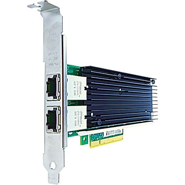 Axiom PCIe x8 10Gbs Dual Port Copper Network Adapter for NetApp, PCI Express 2.0 x8, 2 Port(s), 2 Twisted Pair, (X1120A-R6-AX)