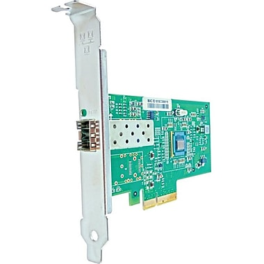 Axiom PCIe x4 1Gbs Single Port Fiber Network Adapter, PCI Express 2.1 x4, 1 Port(s), Optical Fiber, (PCIE-1SFP-AX)