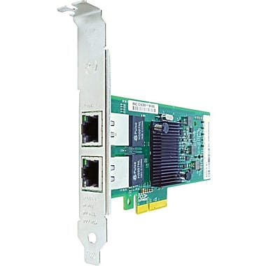 Axiom PCIe x4 1Gbs Dual Port Copper Network Adapter for Intel, PCI Express x4, 2 Port(s), 2 Twisted Pair, (I350T2-AX)