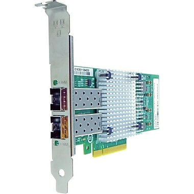 Axiom PCIe x8 10Gbs Dual Port Fiber Network Adapter for QLogic, PCI Express 2.0 x8, 2 Port(s), Optical Fiber, (QLE3242SRCK-AX)