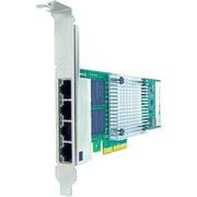 Axiom – Adaptateur réseau en cuivre 4 ports, PCIe x4 1 Gb/s pour HP, PCIe 2.1 x4, 4 ports, 4 paires torsadées (435508-B21-AX)
