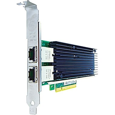 Axiom PCIe x8 10Gbs Dual Port Copper Network Adapter for IBM, PCI Express 2.0 x8, 2 Port(s), 2 Twisted Pair, (0C19497-AX)