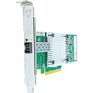 Axiom PCIe x8 10Gbs Single Port Fiber Network Adapter, PCI Express 2.0 x8, 1 Port(s), Optical Fiber, (PCIE-1SFPP-AX)