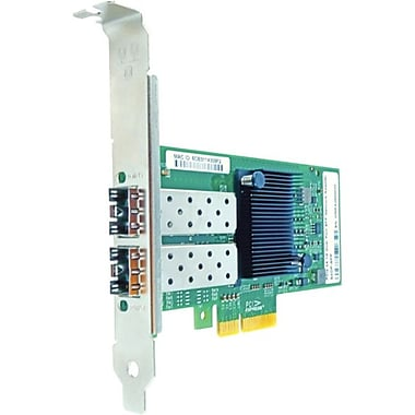 Axiom – Adaptateur de réseau à fibre optique 2 ports PCIe x4 de 1 Gb/s, PCIe 2.1 x4, 2 ports, fibre optique (PCIE-2SFP-AX)