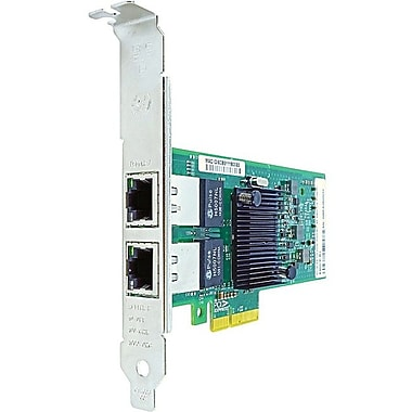 Axiom PCIe x4 1Gbs Dual Port Copper Network Adapter for HP, PCI Express 2.1 x4, 2 Port(s), 2 Twisted Pair, (412648-B21-AX)
