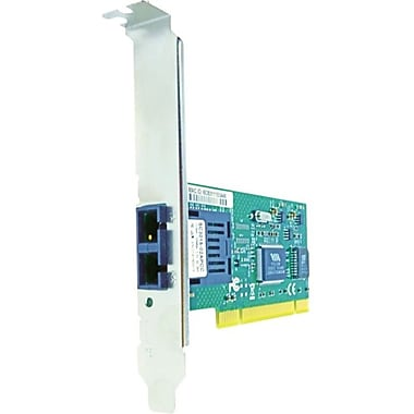 Axiom PCI 100Mbs Single Port Fiber Network Adapter, PCI 2.2, 1 Port(s), 1 x SC Port(s), Optical Fiber, (FX-NIC-SC-M-AX)