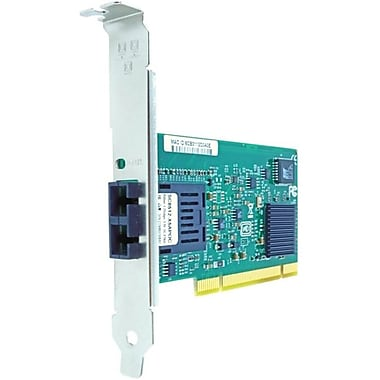 Axiom PCI 1Gbs Single Port Fiber Network Adapter, PCI 2.2, 1 Port(s), 1 x SC Port(s), Optical Fiber, (GSX-NIC-SC-M-AX)