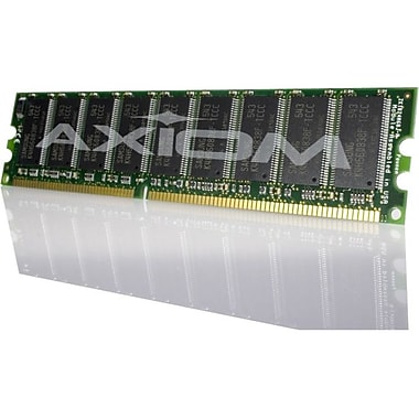 Axiom 1GB DDR SDRAM Memory Module, 1 GB, DDR SDRAM, 400 MHz DDR400/PC3200, 184, (M9655G/A-AX)