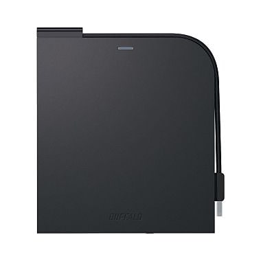 Buffalo MediaStation BRXLPT6U2VB External Bluray Writer, BDR/RE Support, (BRXL-PT6U2VB)
