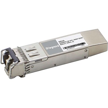 C2G HP 455883B21 Compatible 10GBaseSR MMF SFP+ Transceiver Module, For Optical Network, Data Networking 1 LC 10GBaseSR Network