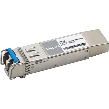 C2G Finisar FTLX1471D3BCL Compatible 10GBaseLR SMF SFP+ Transceiver Module, (39462)