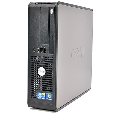 Dell - PC de table Optiplex 780 remis à neuf, 3Ghz Intel Core 2 Duo, RAM 4Go, DD 250Go, Windows 10, (OPTIPLEX780DT)