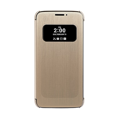 LG Folio Quick Cover for GL G5, Gold, (CFV160ACCAGD)