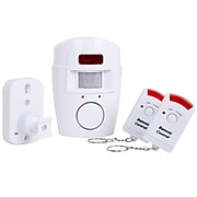 Everyday Home Wireless Motion Sensor Alarm with Two Wireless Remotes (M200002)