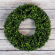 Pure Garden Boxwood Wreath - 16.5 inch Round (M150012)