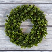 "Pure Garden Boxwood Wreath - 14"" Round (M150014)"