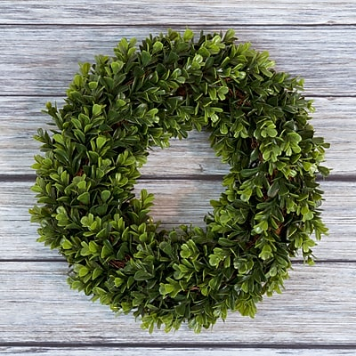 Pure Garden Boxwood Wreath - 14