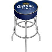 Corona Chrome Bar Stool with Swivel - Griffin (CRN1000-GFN)