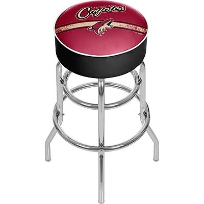 NHL Chrome Bar Stool with Swivel - Arizona Coyotes® (NHL1000-AC2)
