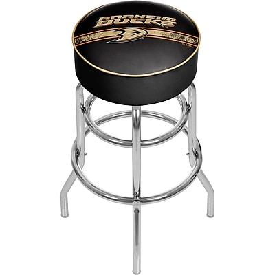 NHL Chrome Bar Stool with Swivel - Anaheim Ducks® (NHL1000-AD2)