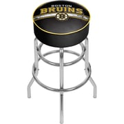 NHL Chrome Bar Stool with Swivel - Boston Bruins® (NHL1000-BB2)