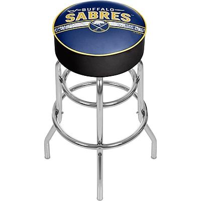 NHL Chrome Bar Stool with Swivel - Buffalo Sabres® (NHL1000-BS2)