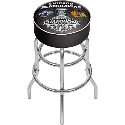 Chicago Blackhawks Swivel Bar Stool - 2015 Stanley Cup Champs (NHL1000CBHSC15) 2211774
