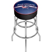 NHL Chrome Bar Stool with Swivel - Columbus Blue Jackets® (NHL1000-CBJ2)