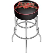 NHL Chrome Bar Stool with Swivel - Calgary Flames® (NHL1000-CF2)