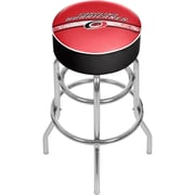 NHL Chrome Bar Stool with Swivel - Carolina Hurricanes® (NHL1000-CH2)