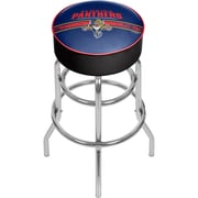 NHL Chrome Bar Stool with Swivel - Florida Panthers® (NHL1000-FP2)