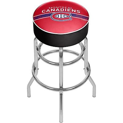 NHL Chrome Bar Stool with Swivel - Montreal Canadiens® (NHL1000-MC2)