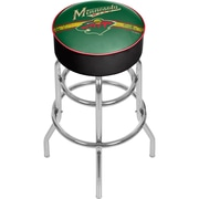 NHL Chrome Bar Stool with Swivel - Minnesota Wild® (NHL1000-MW2)