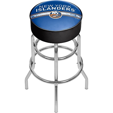 NHL Chrome Bar Stool with Swivel - New York Islanders® (NHL1000-NYI2)