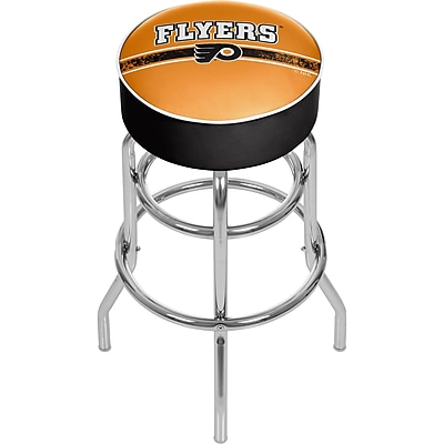 NHL Chrome Bar Stool with Swivel - Philadelphia Flyers® (NHL1000-PF2)