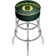 University of Oregon Chrome Bar Stool with Swivel (ORG1000-DUCK)